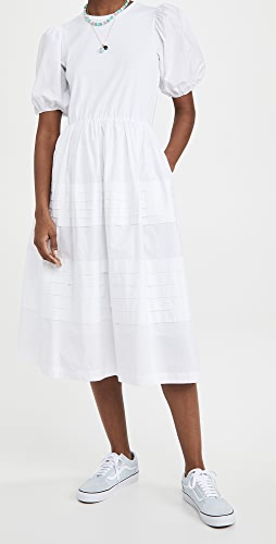 ENGLISH FACTORY - Pleated Detail Dress