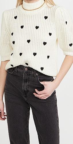ENGLISH FACTORY - Heart Sweater
