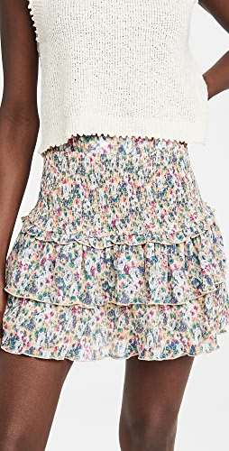 ENGLISH FACTORY - Floral Pleated Skirt