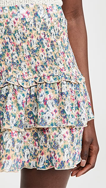 ENGLISH FACTORY Floral Pleated Skirt