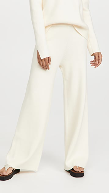 ENGLISH FACTORY Knit Wide Pants