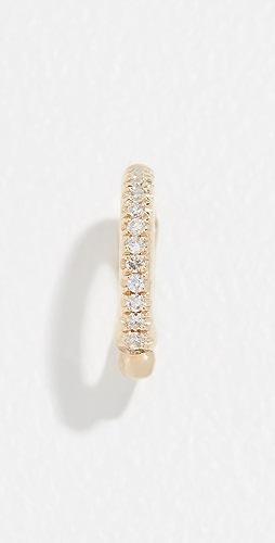 EF Collection - 14k Single Diamond Ear Cuff