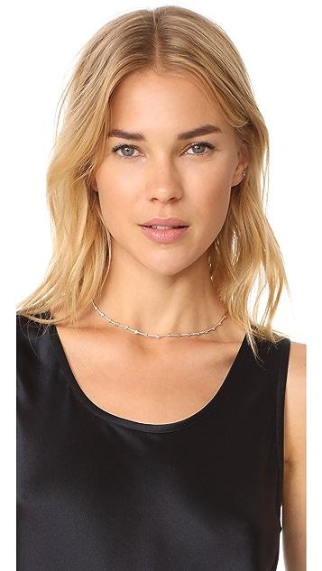 EF Collection 14k Gold Diamond Eternity Necklace