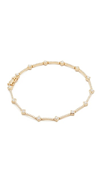 EF Collection 14k Diamond Eternity Bracelet