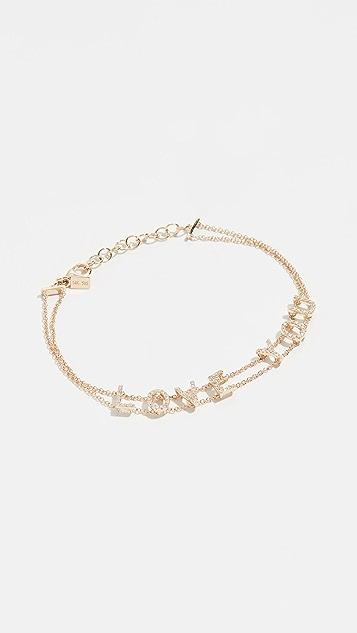 EF Collection 14k Gold Diamond Bracelet