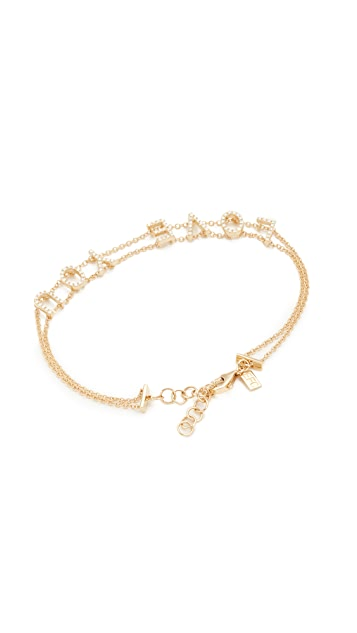 EF Collection 14k Gold Diamond Bracelet