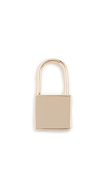 EF Collection Серьга Lock из 14-каратного золота
