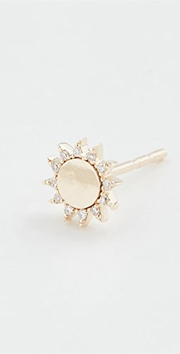 EF Collection - 14k Single You Are My Sunshine Diamond Stud
