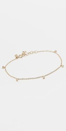 EF Collection - 5 爪镶钻石手链