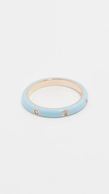 EF Collection Enamel Stack Ring