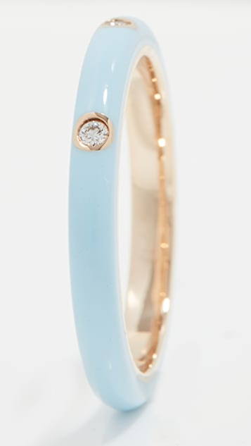 EF Collection Enamel Stack Ring