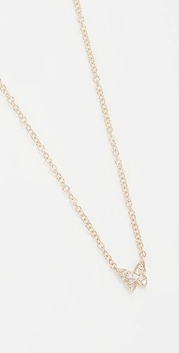 EF Collection - Baby Diamond 蝴蝶项链