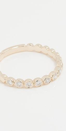 EF Collection - 钻石包镶叠戒