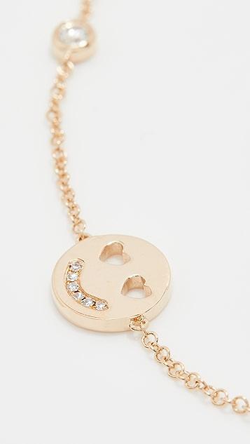 EF Collection Peace Love Smile Bracelet
