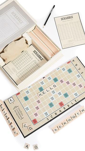 East Dane Gifts Scrabble Vintage Bookshelf Edition