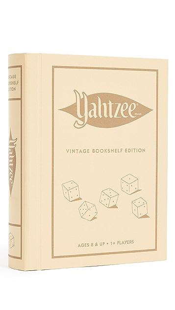 Подарки East Dane Винтажное издание игры «Yahtzee» Bookshelf