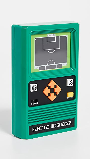 East Dane Gifts Electronic Soccer Retro Arcade Game