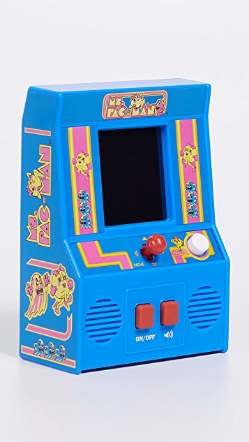 East Dane Gifts Ms. Pac-Man Retro Arcade Game