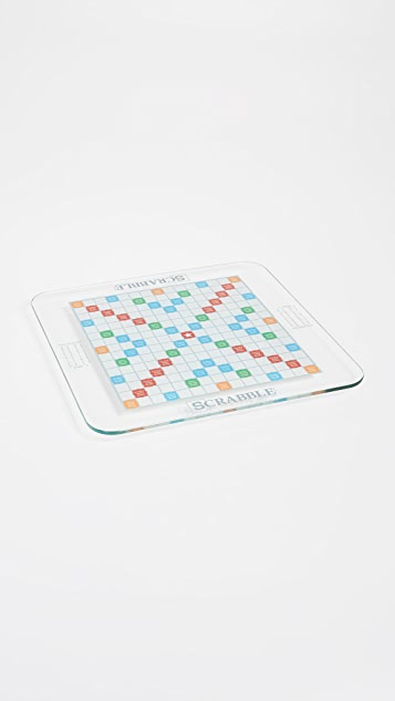 East Dane Gifts Scrabble Glass Edition