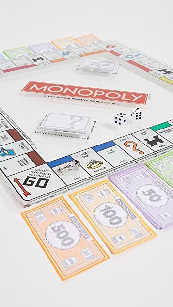 East Dane Gifts Monopoly Glass Edition