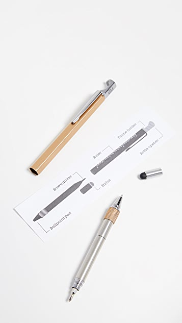 East Dane Gifts 6-In-One Tool Pen