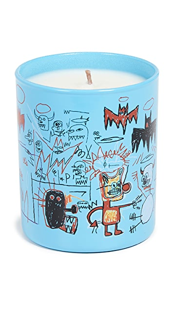 East Dane Gifts Basquiat Blue Candle
