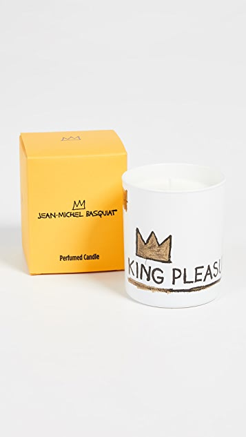 East Dane Gifts Basquiat White King Pleasure Candle