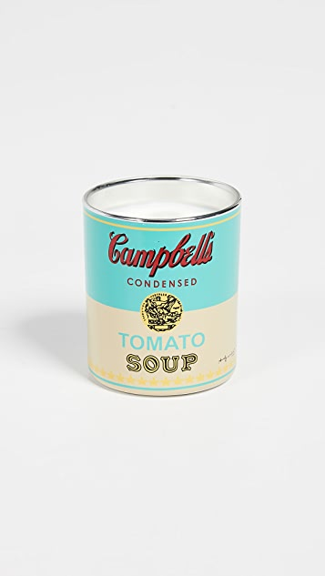 East Dane Gifts Andy Warhol Campbell Candle