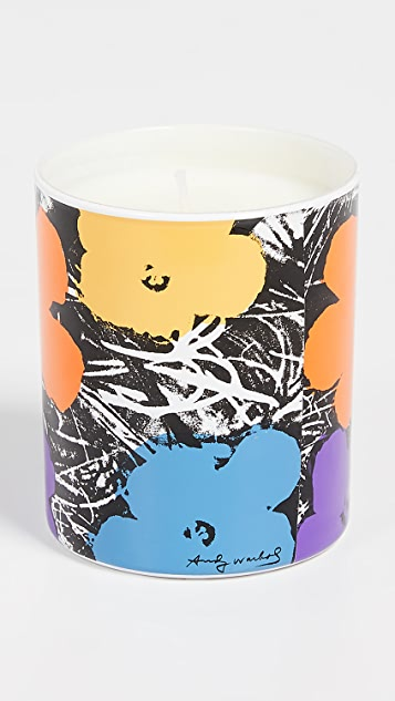 East Dane Gifts Andy Warhol Flower Candle