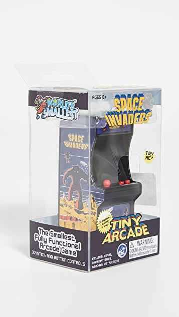 East Dane Gifts Space Invaders Retro Arcade Game