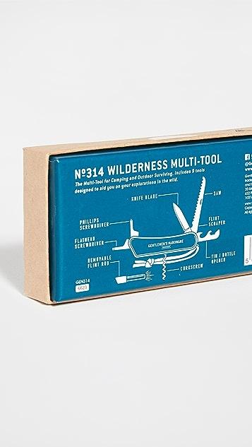 East Dane Gifts Wilderness Multi-Tool