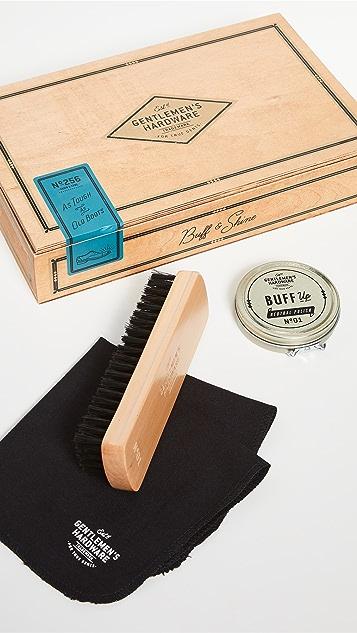East Dane Gifts Shoe Shine Cigar Box