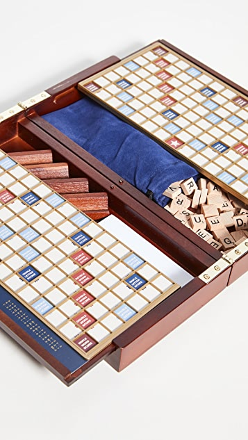 East Dane Gifts Scrabble Deluxe Travel Edition