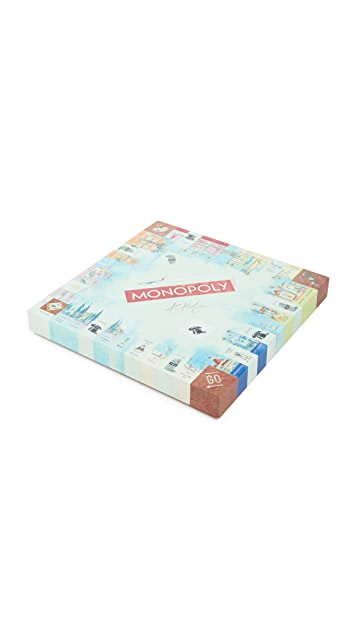 East Dane Gifts Monopoly California Dreaming Edition by Kathleen Keifer
