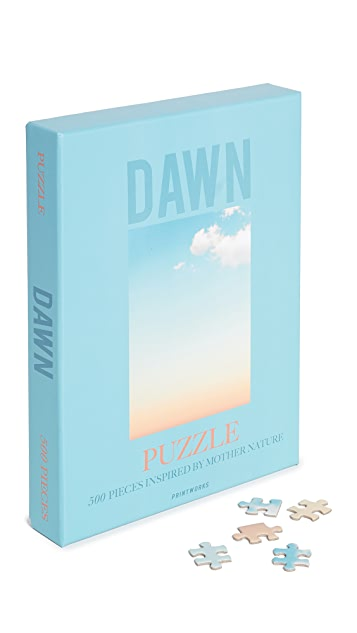 East Dane Gifts Dawn Puzzle