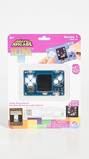 East Dane Gifts Tetris Micro Arcade Game