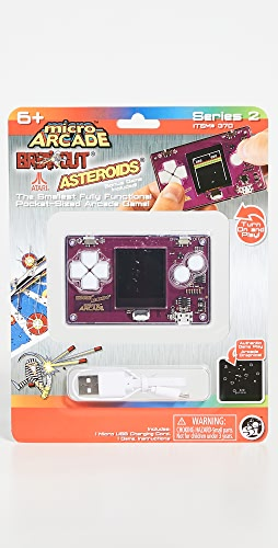 East Dane Gifts - Asteroids Breakout Micro Arcade Game