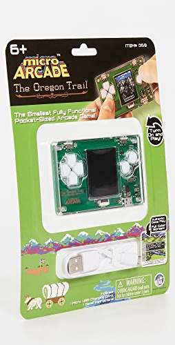 East Dane Gifts - Oregon Trail Micro Arcade Game