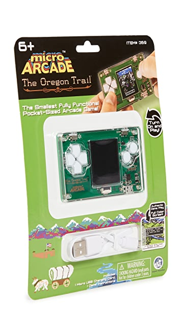 East Dane Gifts Oregon Trail Micro Arcade Game