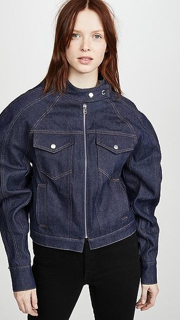 Eckhaus Latta Warped Denim Jacket