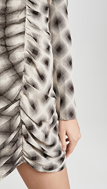Eckhaus Latta Ripple Dress