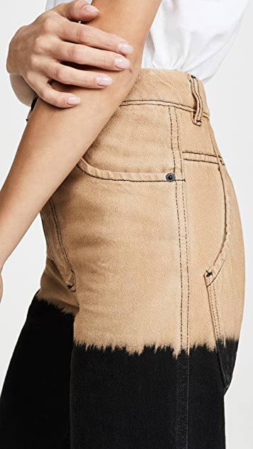 Eckhaus Latta Широкие джинсы
