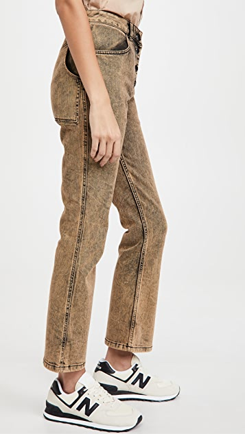 Eckhaus Latta Kick 喇叭牛仔裤
