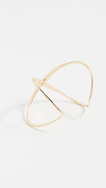 Elizabeth and James Windrose Cuff Bracelet
