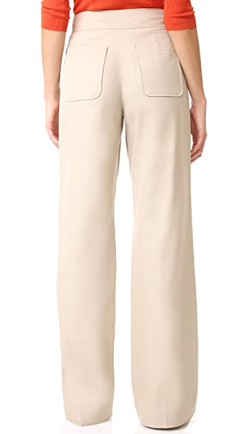 Elizabeth and James Milo Twill Trousers