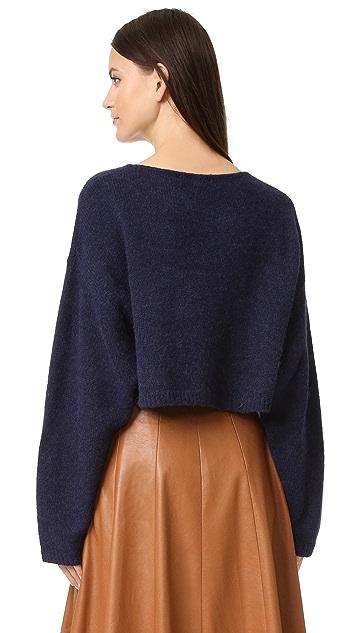 Elizabeth and James Vann Crop Sweater