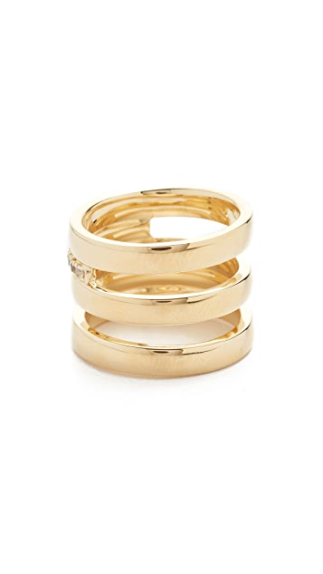 Elizabeth and James Neko Ring