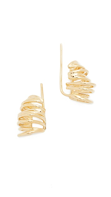 Elizabeth and James Roxy Earrings - Gold