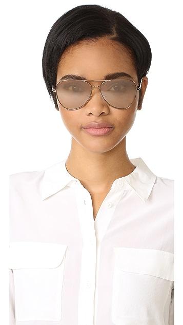 Elizabeth and James Stanton Aviator Sunglasses