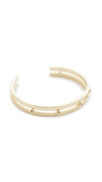 Elizabeth and James Amber Cuff Bracelet